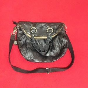 The Sak leather cross body bag